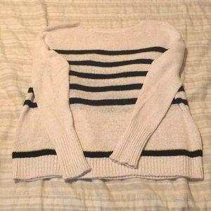 LOFT casual striped sweater